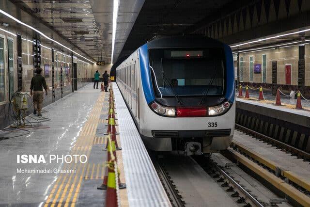 ساخت نخستین قطار مترو با فناوری بومی