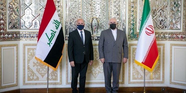 وزیر خارجه عراق با ظریف دیدار کرد