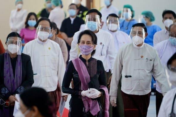 پلیس میانمار علیه «سوچی» اعلام جرم کرد