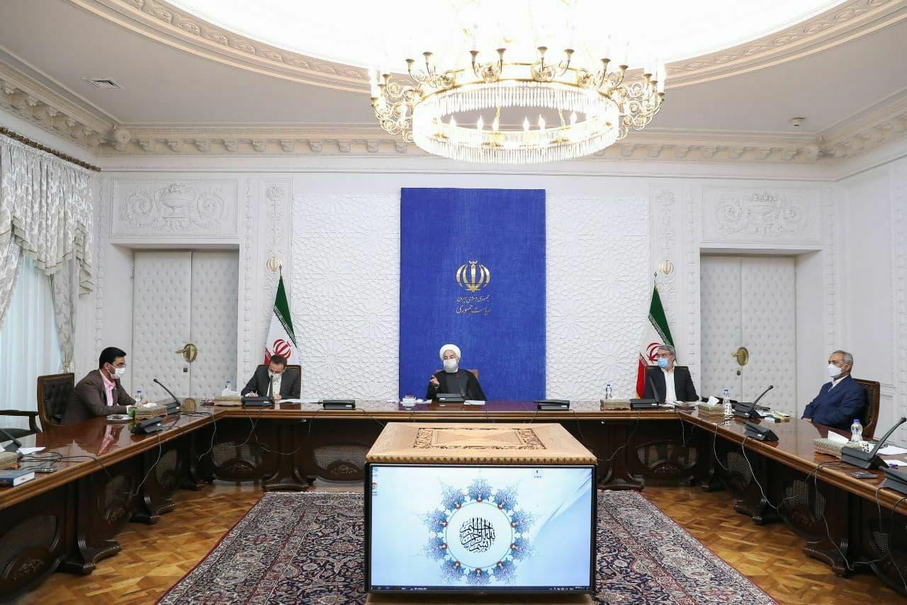 رئیس جمهور در جلسه کمیته های ستاد ملی مقابله با کرونا