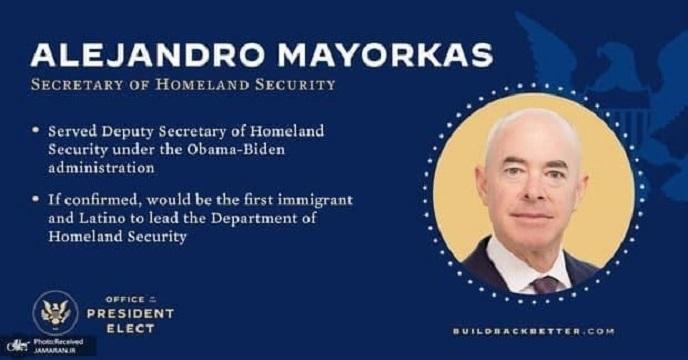 مهاجری که وزیر امنیت داخلی آمریکا شد/ وزیر یهودی،جنجالی و کوبایی تبار دولت بایدن را بشناسیم