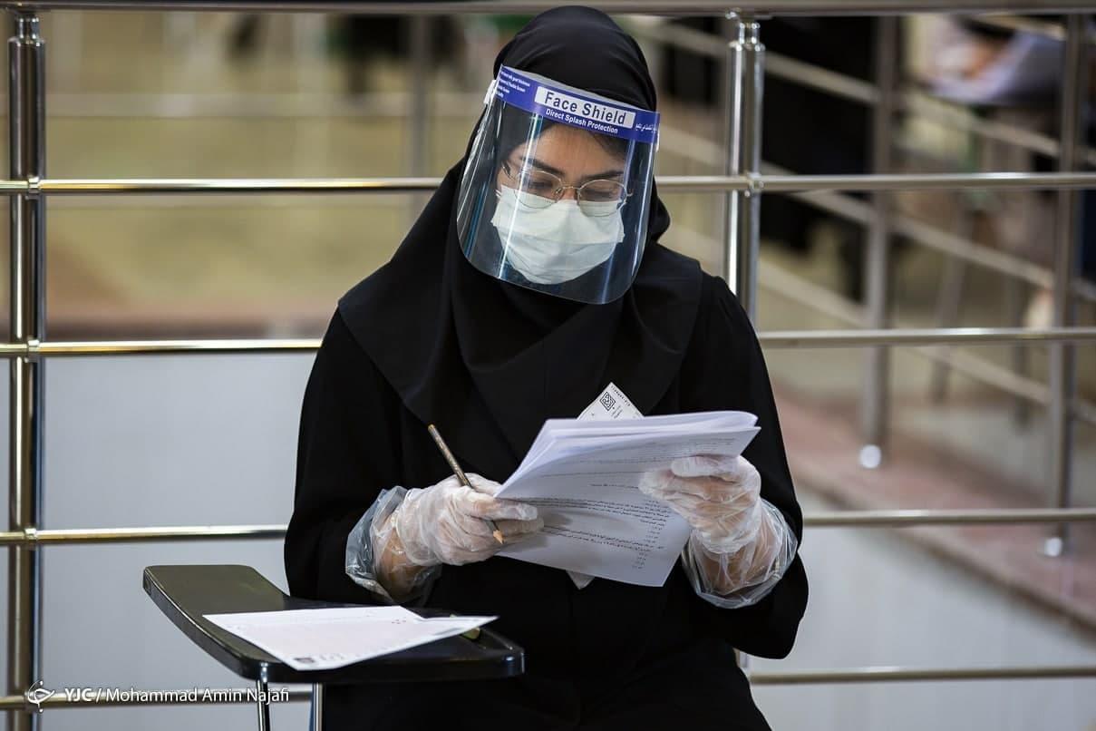 تمهیدات سازمان سنجش برای کنترل کرونا در آزمونها/ داوطلبان کرونایی حضوری به باجهها مراجعه کنند!