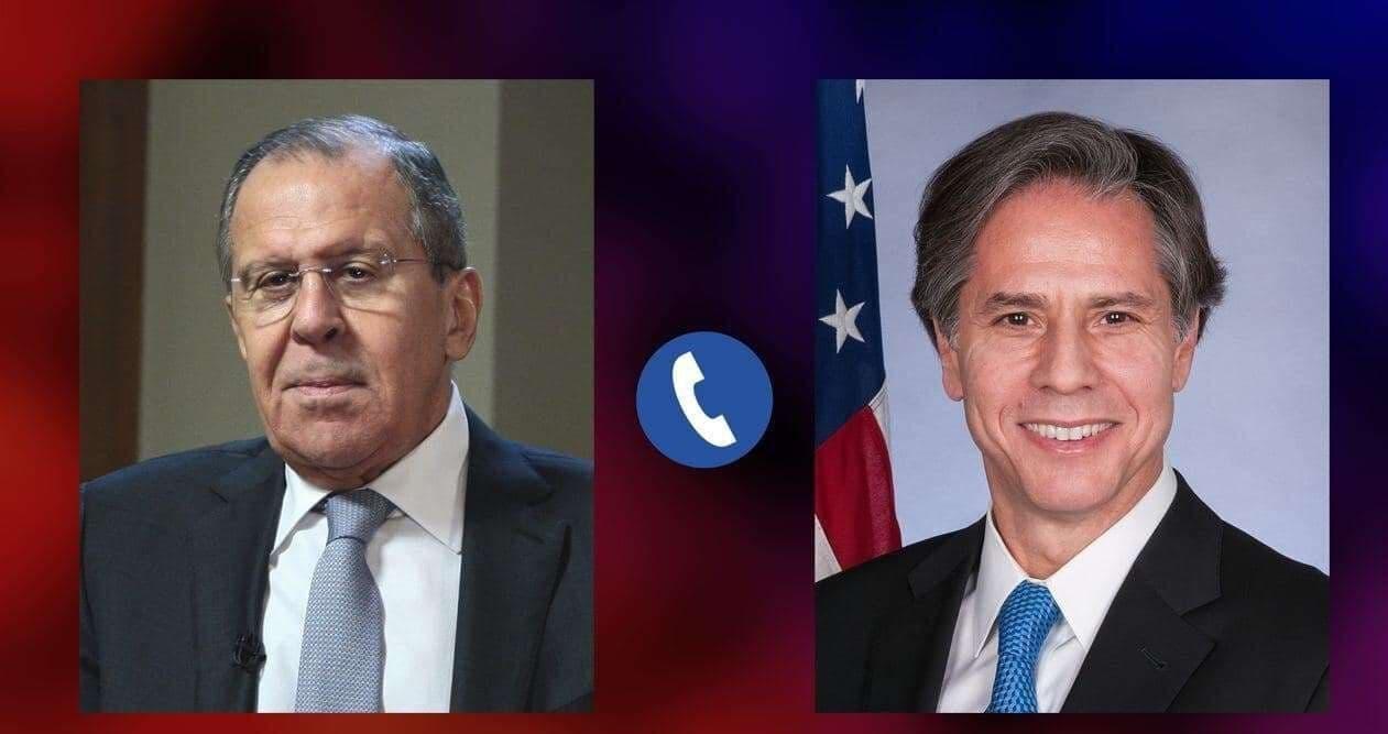 تماس تلفنی وزرای خارجه روسیه و آمریکا