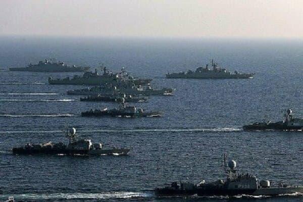 رزمایش دریایی ایران، روسیه و چین در اقیانوس هند برگزار میشود