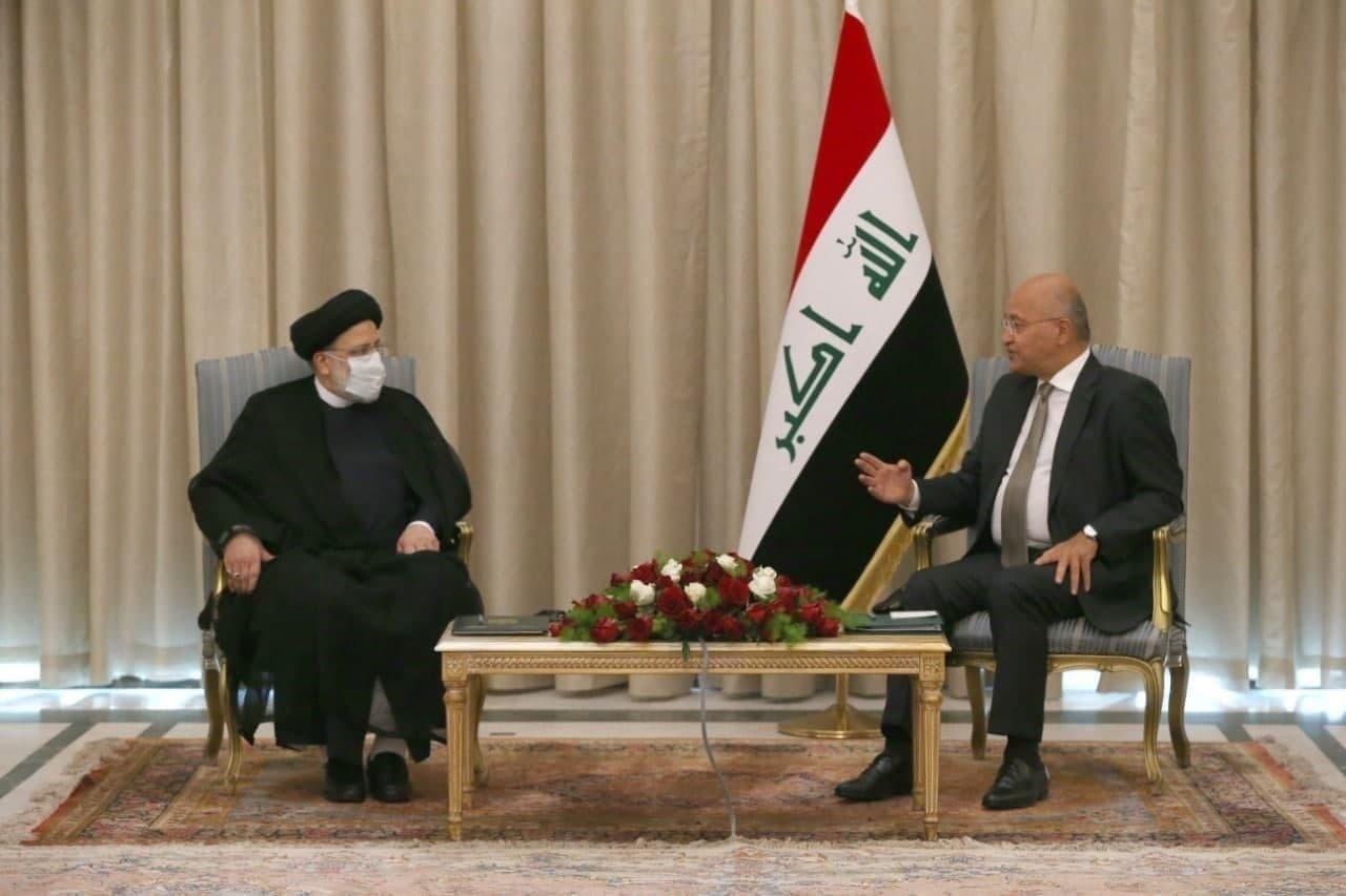 دیدار رئیس قوه قضائیه با رئیس جمهور عراق