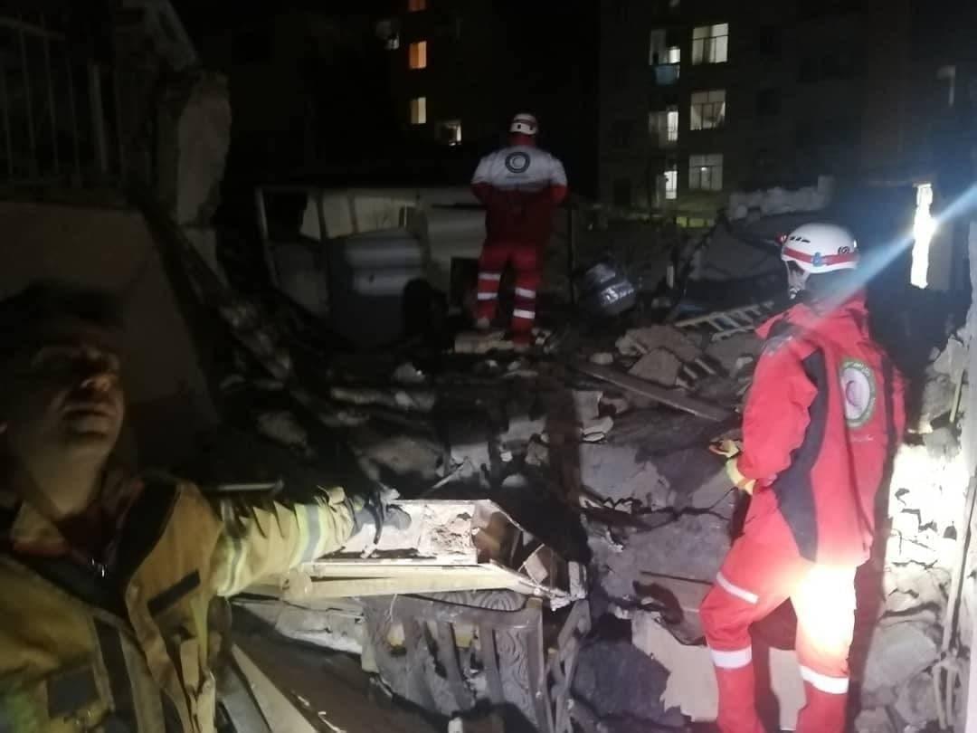انفجار دو واحد مسکونی در کرج؛ ۲ نفر کشته شدند