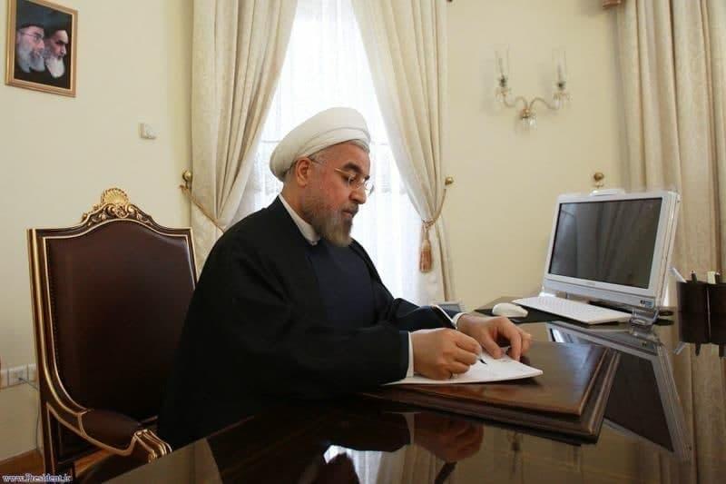 رئیس جمهوری یک قانون مصوب مجلس شورای اسلامی را برای اجرا به قوه قضائیه و وزارت دادگستری ابلاغ کرد