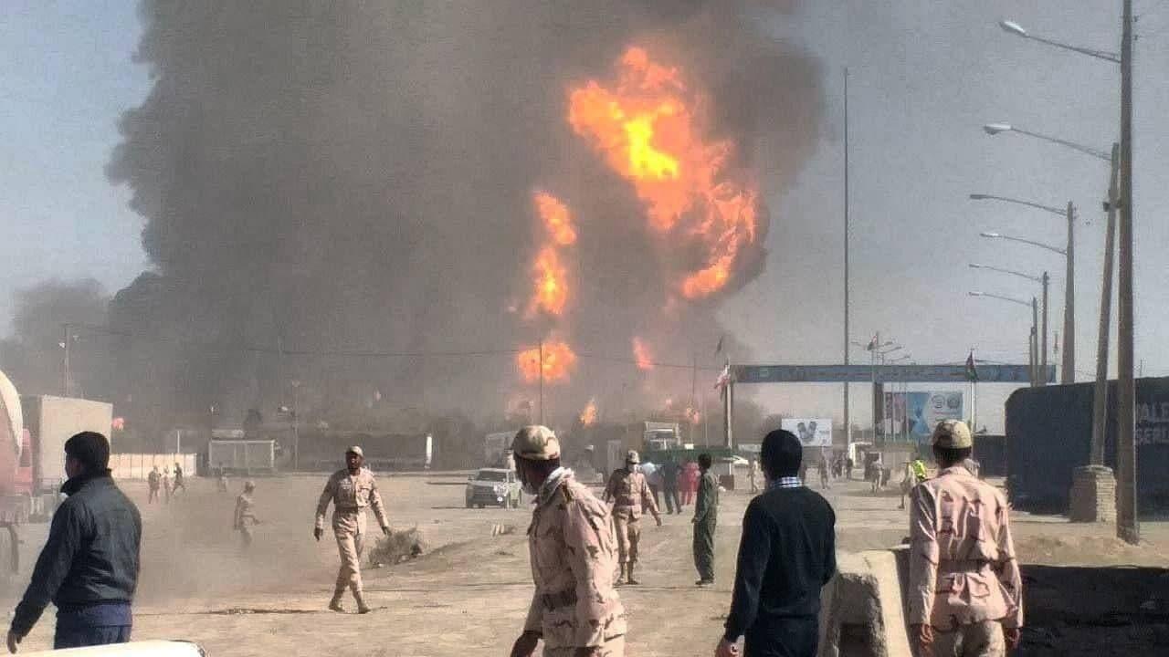 علت آتش سوزی گمرک اسلام قلعه هرات مشخص شد