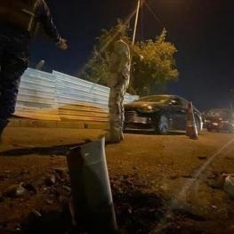 حمله راکتی به یک پایگاه نظامی در شمال بغداد