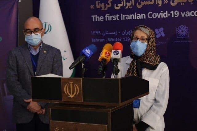 مینو محرز: حال ۵۶ داوطلب تزریق کننده واکسن ایرانی کرونا خوب است