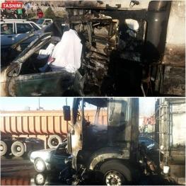 سه کشته درپی تصادف هولناک کامیون با پژو