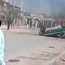 """مقام امنیتی: شناسایی افراد مسلح ناآرامیهای سراوان/ با معترضان """"مماشات"""" کردیم"""