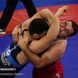 پایان کار کشتیگیران ایران با کسب ۸ مدال در تورنمنت اوکراین