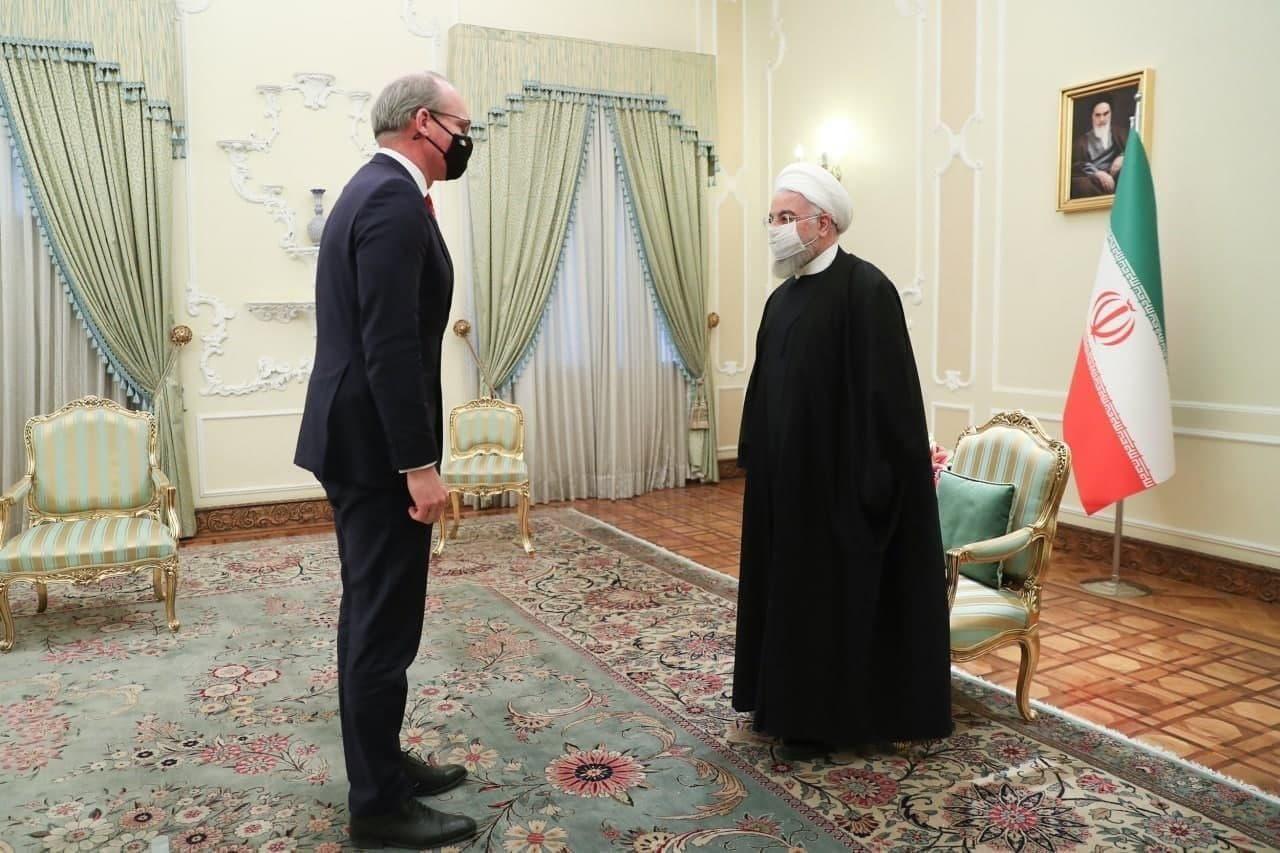 دیدار وزیر خارجه ایرلند با رئیسجمهوری
