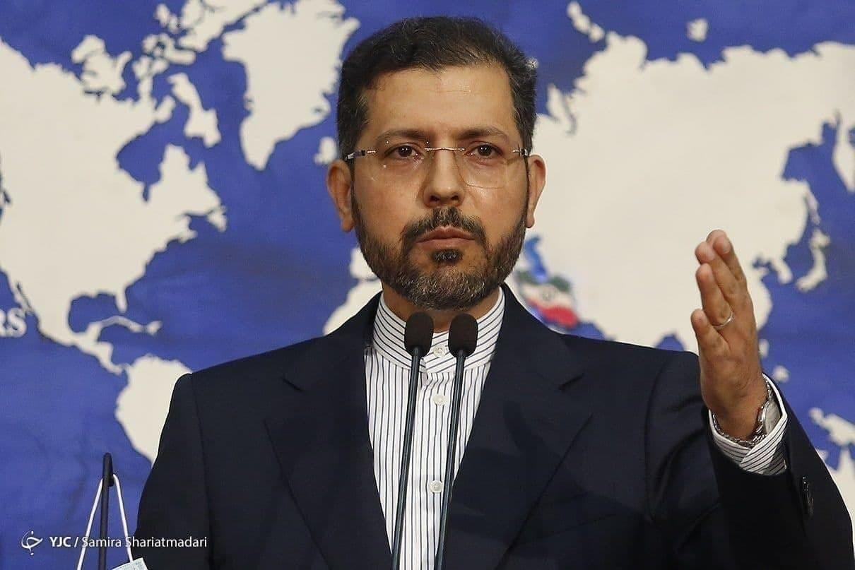 خطیب زاده: بین ایران و آمریکا گفتوگوی مستقیم یا غیرمستقیمی نیست