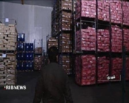 کشف ۱۰۰ تن مرغ احتکار شده در شهرستان ری
