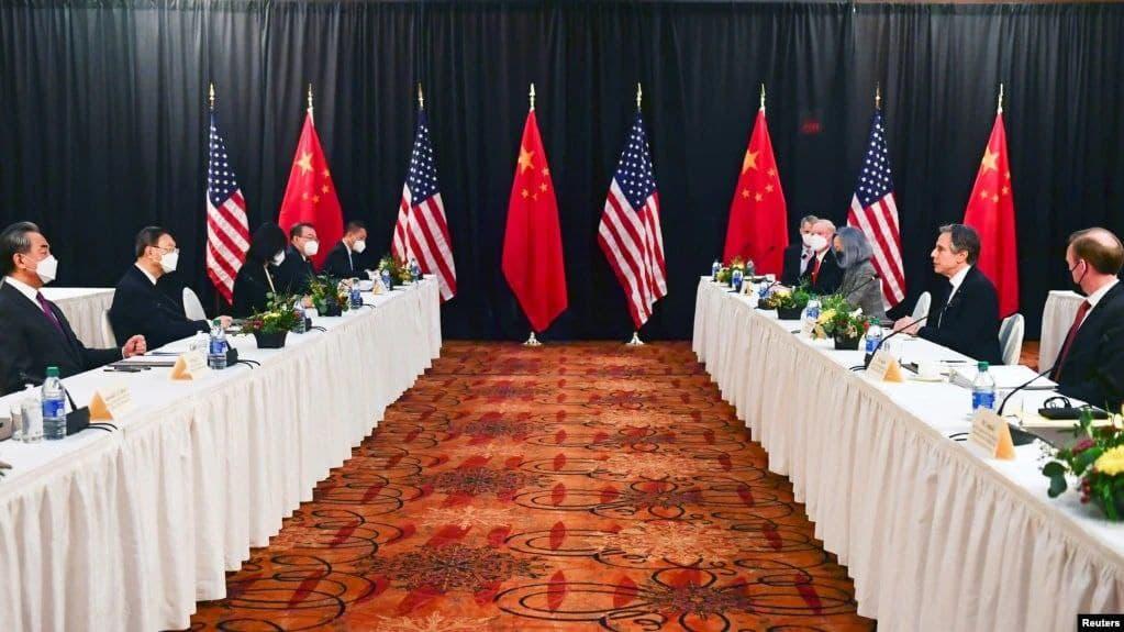 جنگ لفظی مقامهای آمریکایی و چینی در آغاز دوره تازه مذاکرات