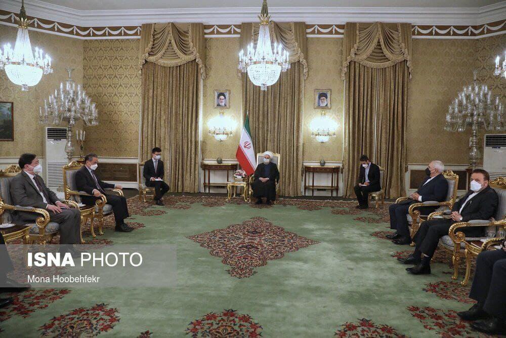 امضای سند همکاری های جامع ایران و چین