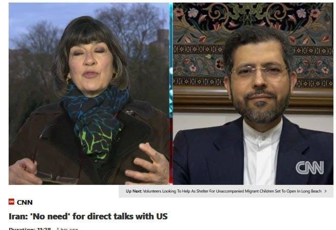 خطیبزاده: نیازی به مذاکره با امریکا نیست.