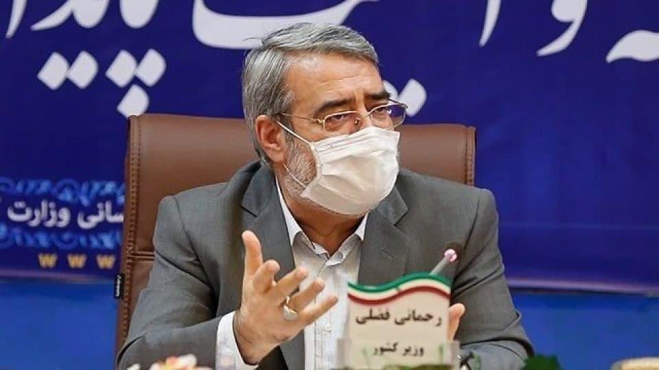 وزیر کشور در بیمارستان بستری شد