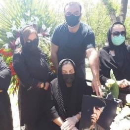 محسن قاضی مرادی در قطعه هنرمندان آرام گرفت