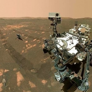 «نبوغ» ناسا در مریخ به پرواز درخواهد آمد