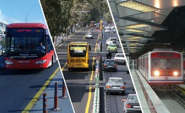 افزایش ۲۵ تا ۳۵ درصدی کرایههای حمل و نقل در پایتخت
