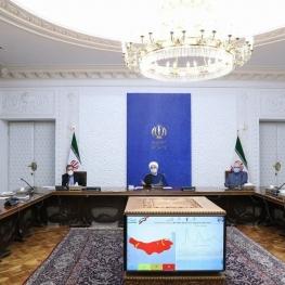 رییس جمهور در جلسه کمیته های تخصصی ستاد مقابله با کرونا