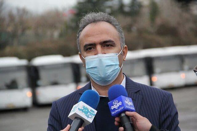 رانندگان ناوگان اتوبوسرانی تهران در صف انتظار واکسیناسیون