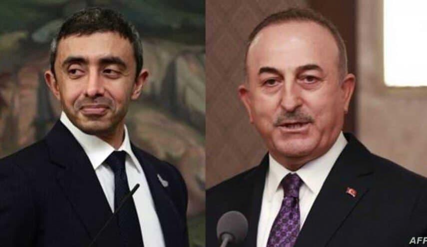 گفتوگوی تلفنی وزرای امورخارجه ترکیه و امارات بعد از چهار سال
