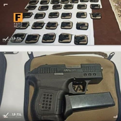 کشف محموله سلاحهای مخصوص ترور در آستانه انتخابات