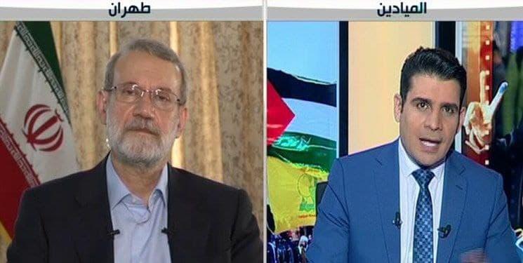 لاریجانی در گفتوگو با المیادین: سپاهی بودهام و تجربه امنیتی دارم