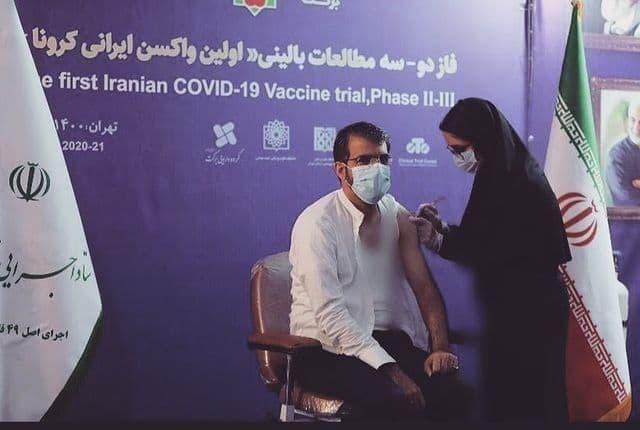 مدیرعامل پرسپولیس واکسن ایرانی زد.