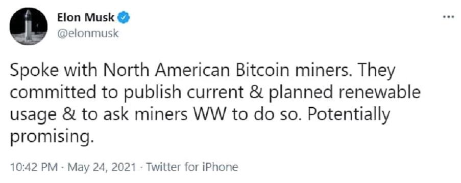 توییت مبهم ماسک درباره بیت کوین بازار را تکان داد