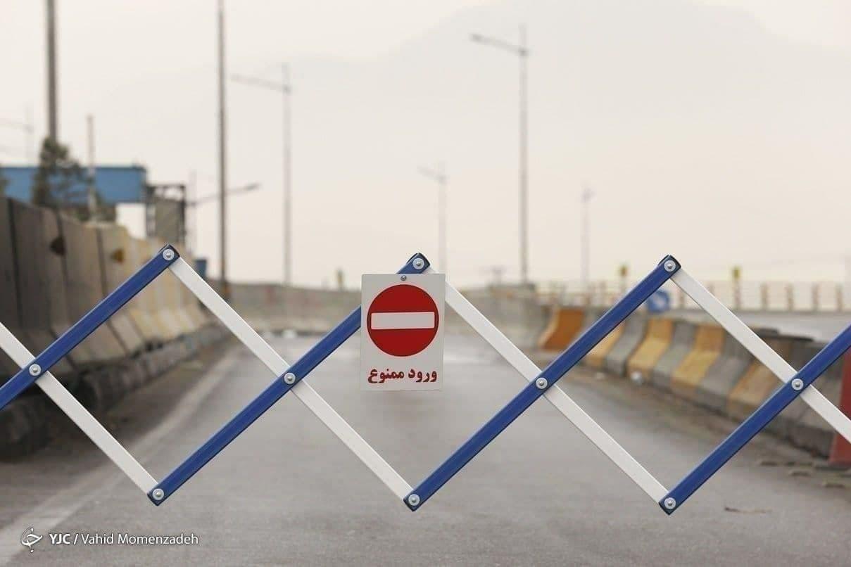 جاده های مازندران همچنان ورود ممنوع است