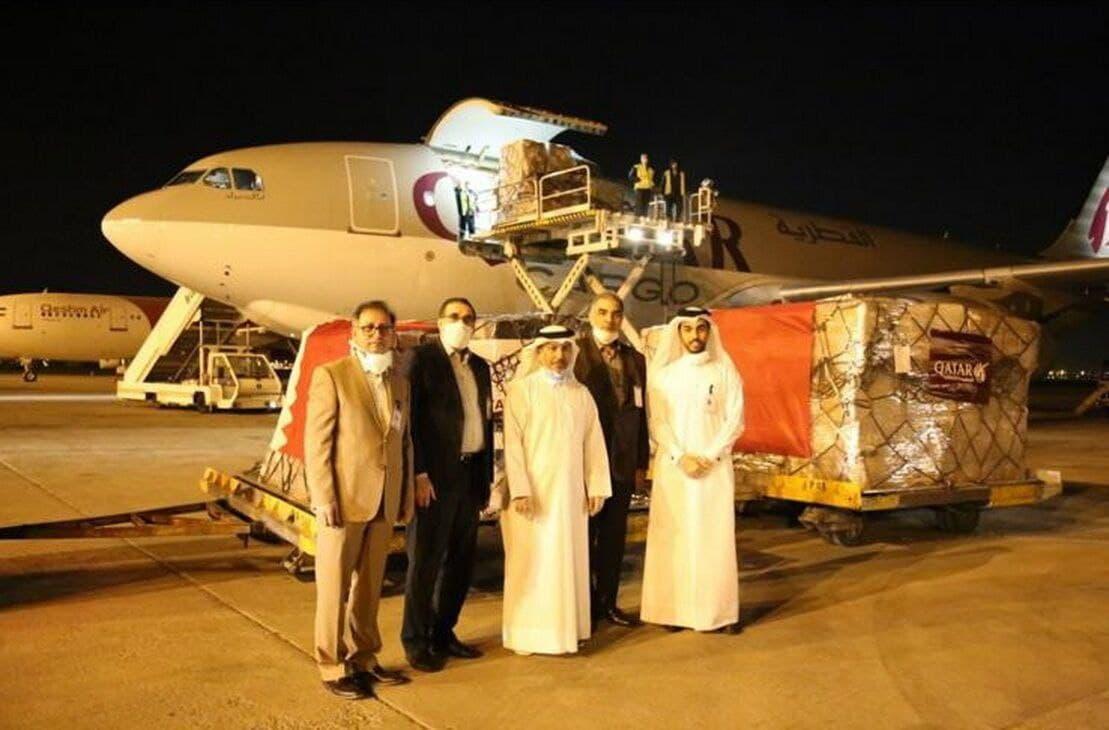 اهدای دومین محموله داروهای بیماریهای خاص از سوی قطر به ایران