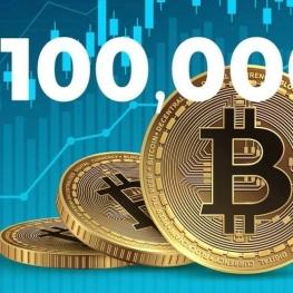 بلومبرگ: ۱۰۰,۰۰۰ دلاری شدن بیت کوین از ریزش قیمت محتملتر است