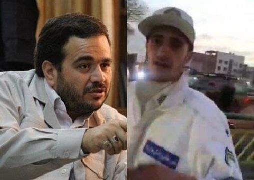عنابستانی: سرباز راهور به دروغ ادعا کرد سیلی زدهام/ از افسر راهور هم شکایت کردیم