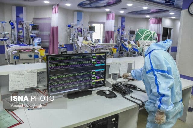 روند کاهشی مراجعات کرونایی به بیمارستانها