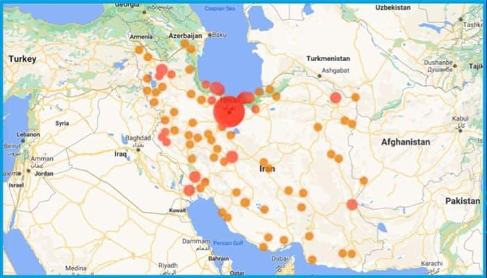 ۷۲,۰۰۰ آیپی ایرانی به ۴.۵ میلیون آدرس منحصربهفرد بیت کوین مرتبط هستند
