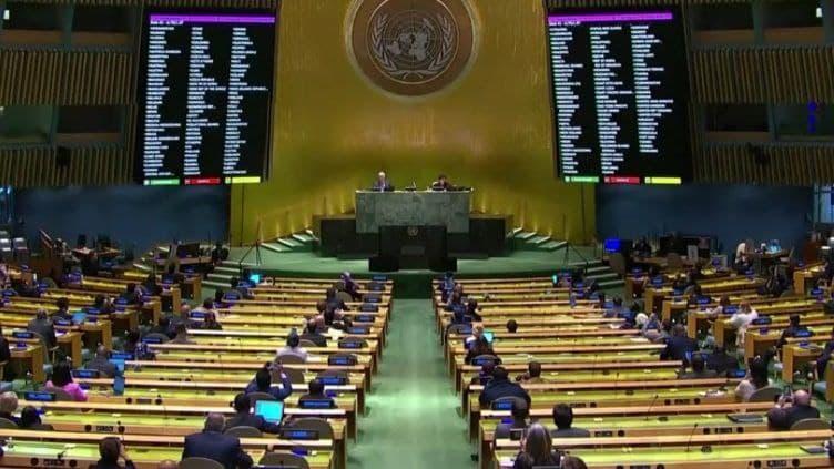 تصویب پیش نویس قطعنامه لزوم پایان تحریم های آمریکا بر ضد کوبا در سازمان ملل