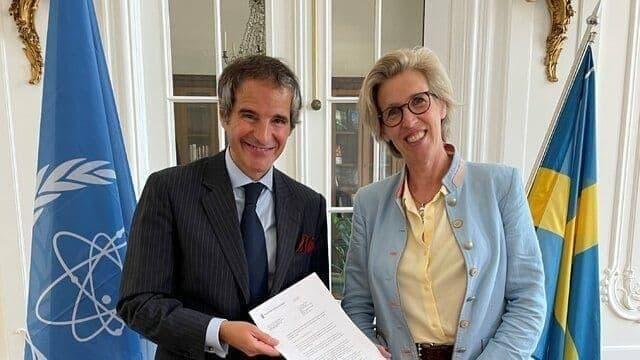 سوئد حامی مالی فعالیتهای آژانس بینالمللی انرژی اتمی در ایران شد