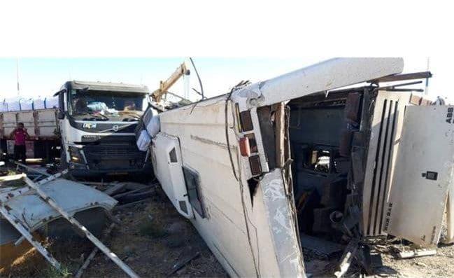 واقعیت های تکان دهنده علت تصادف اتوبوس خبرنگاران و سربازان
