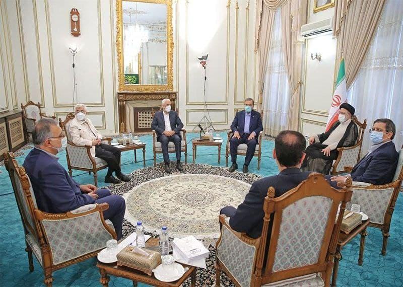 دیدار سیدابراهیم رییسی رییسجمهور منتخب با ۶ کاندیدای انتخابات ریاست جمهوری ۱۴۰۰
