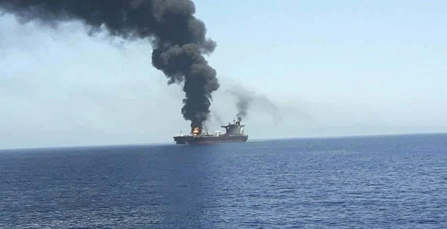 کشتی باری اسراییل با سلاحی ناشناخته هدف قرار گرفته است