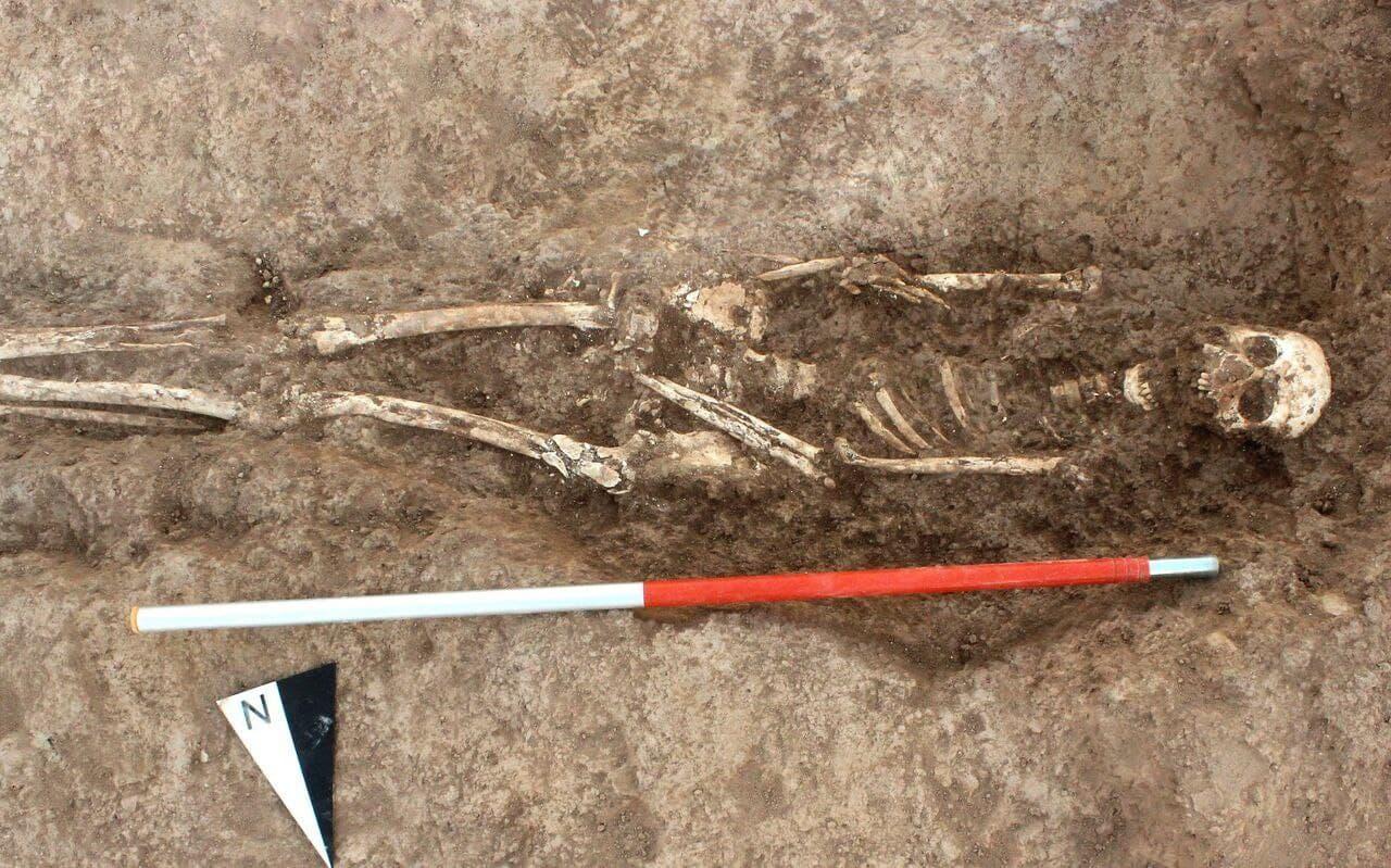 کشف تدفینهای انسانی از دوره کفتری در دارابِ فارس