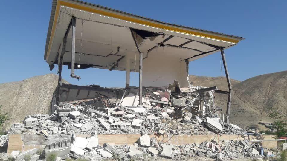ویلای یکی از مسوولان دماوند در اراضی ملی تخریب شد