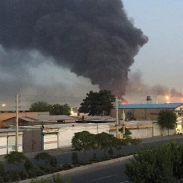 علت آتش سوزی انبار سازمان اموال تملیکی