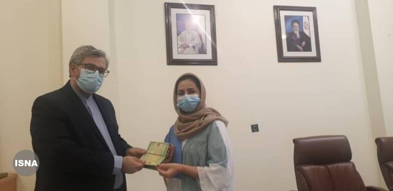 صدور اولین شناسنامه برای فرزندان دارای مادر ایرانی و پدر خارجی در خارج از کشور