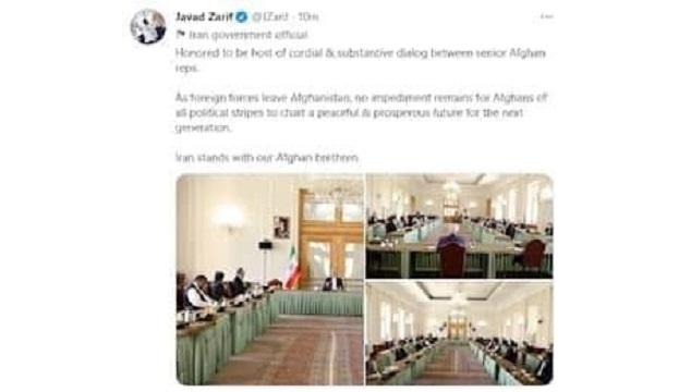 یادداشت وزیر امور خارجه پس از دیدار با نمایندگان گروه های افغانستانی؛